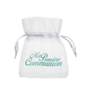 Sachet à dragées Communion Mint x6