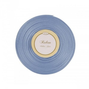 Ruban satin Bleu 6mm