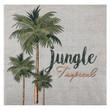Serviette Jungle tropical