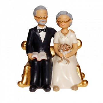 COUPLE PERSONNES AGEES ASSISES