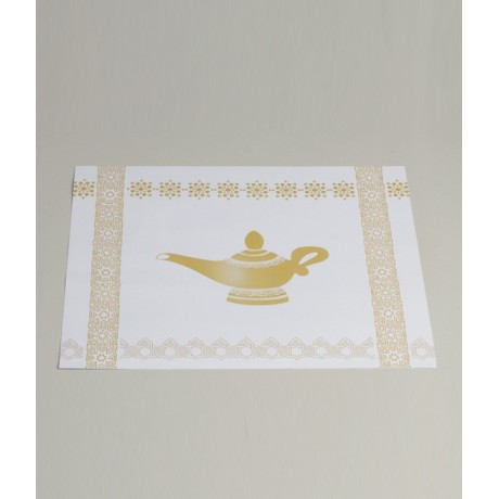 Set de table oriental Aladdin x12