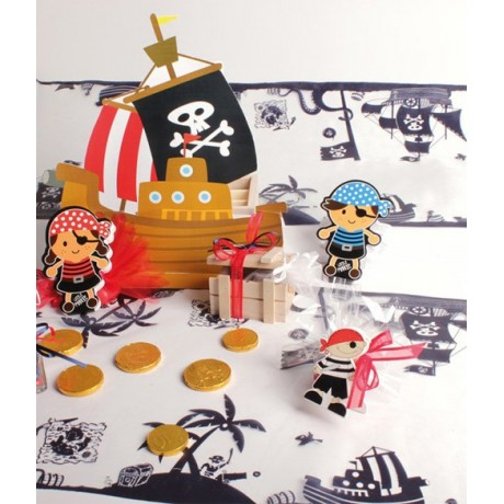 Chemin de table Pirate