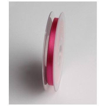 Ruban Satin Fuchsia 6 mm
