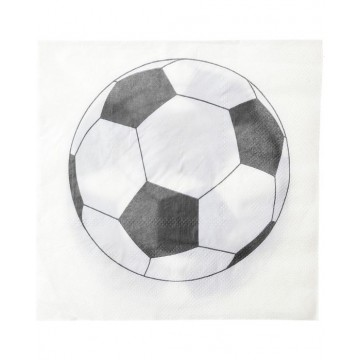 Serviette en papier Foot x20