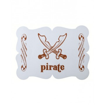 Set de table Pirate Ciel x6