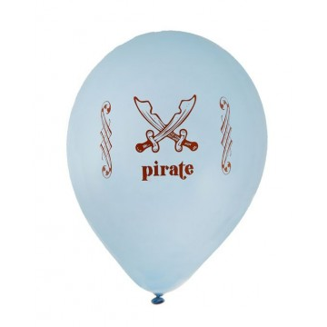 Ballon Baudruche Pirate ciel x8