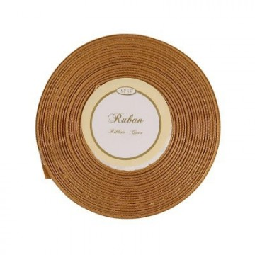 Ruban satin Or 6mm