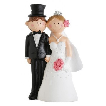 Grande figurine Mr & Mrs