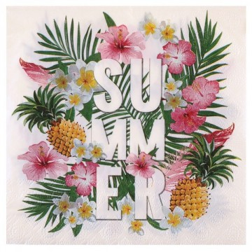 Serviette Tropical