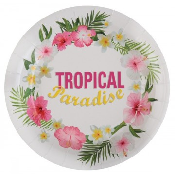 Assiette Tropical