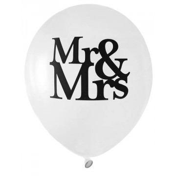 Ballon Mr & Mrs x8