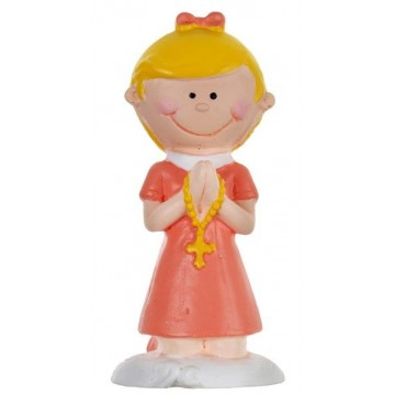 Figurine Communion - Corail