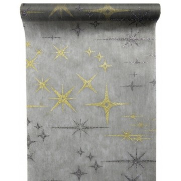 Chemin de table Galaxy gris