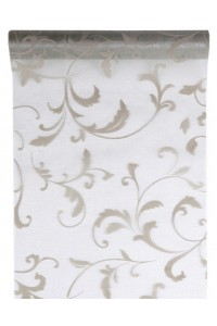 Chemin de table Arabesque ARGENT