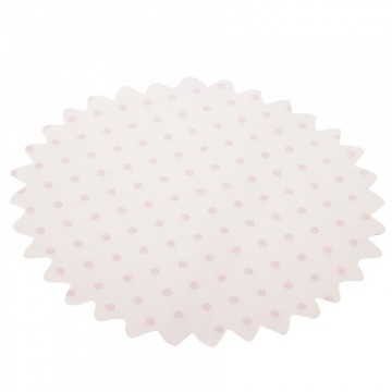 TULLES POIS ROSES ( x25 )