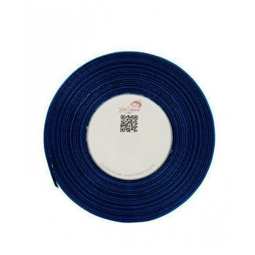 Ruban satin Marine 6mm