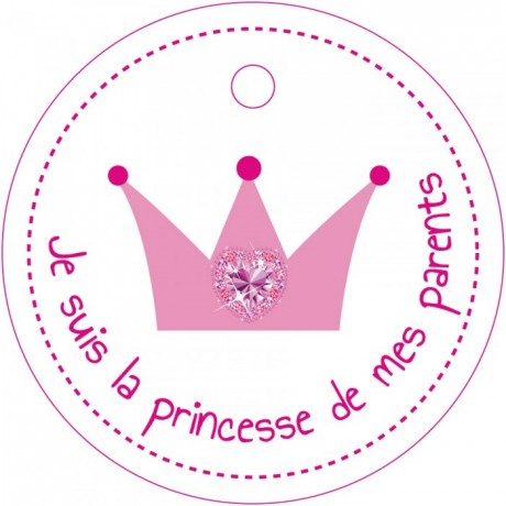 NOMINETTE COURONNE PRINCESSE x25PCS