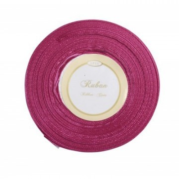Ruban satin - Fuchsia - 6mm * 25m