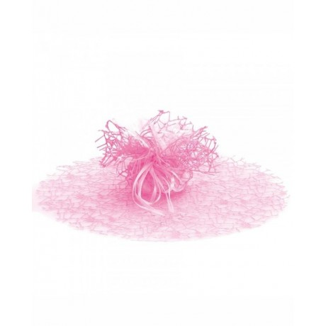 Tulle dragées filet Rose